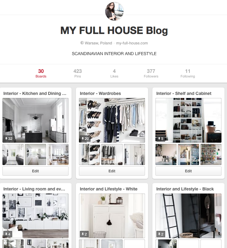 My Full House on Pinterest | www.my-full-house