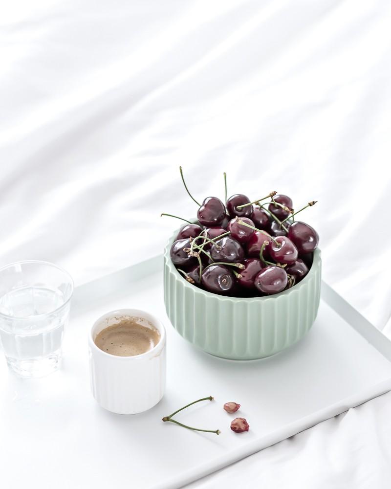 weekend cherries in bed | www.my-full-house.com