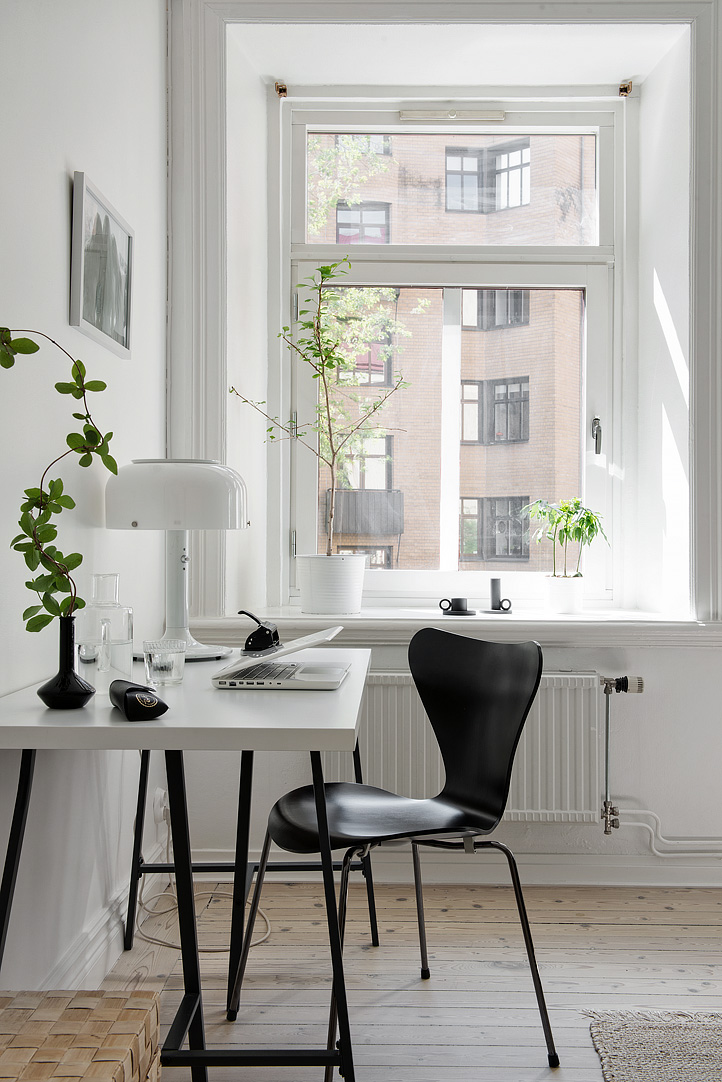 Simple and cosy swedish apartment
