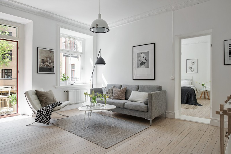 Simple and cosy Swedish apartment | www.my-ful-house.com | Scandinavian blog