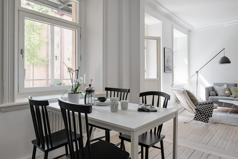 Simple and cosy Swedish apartment for 2 | www.my-ful-house.com | Scandinavian blog