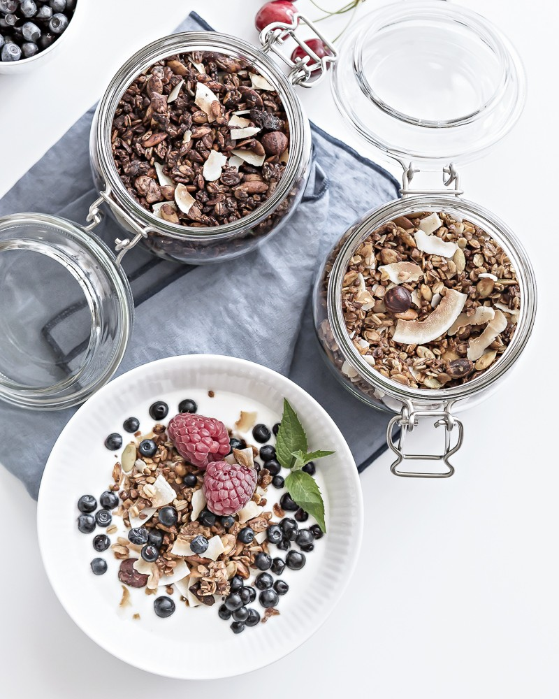 absolutely best homemade granola - basis recipe | www.my-full-house.com