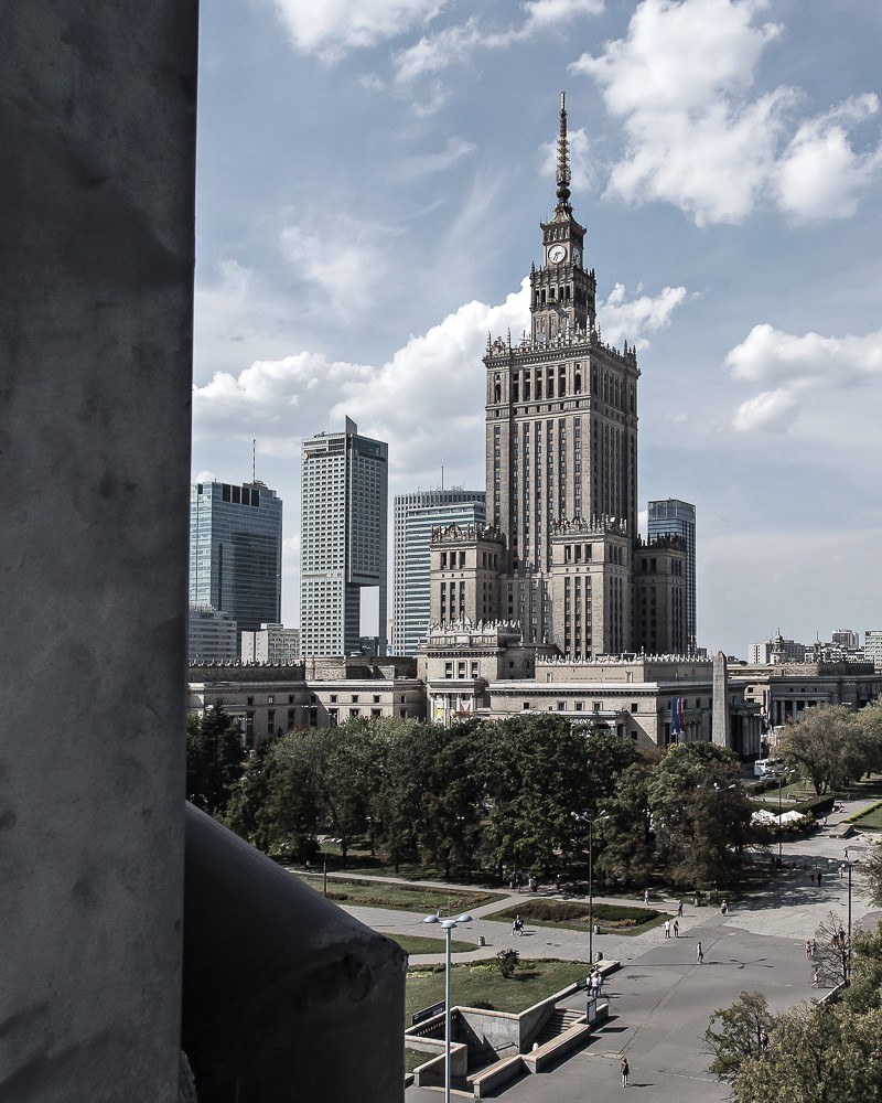 Weekend in Warsaw city centre - Polonia Palace - romance and history | www.my-full-house.com