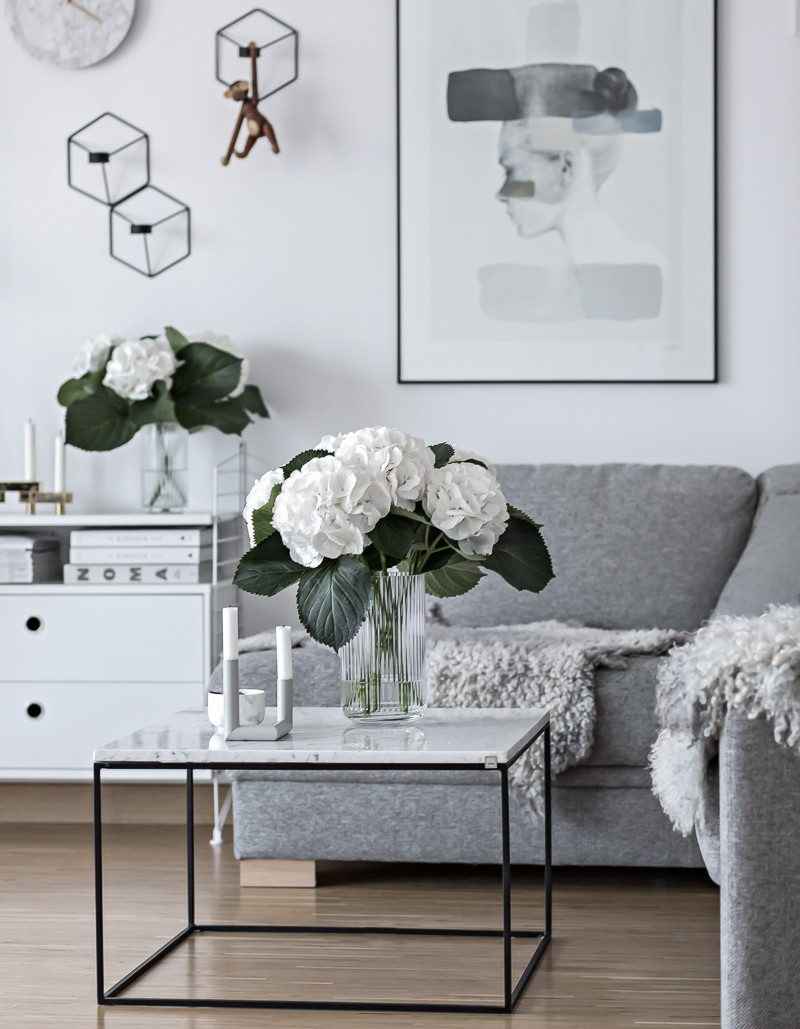 Hydrangea - the perfect flower | www.my-full-house.com | Top Scandinavian Interior and Lifestyle Blog