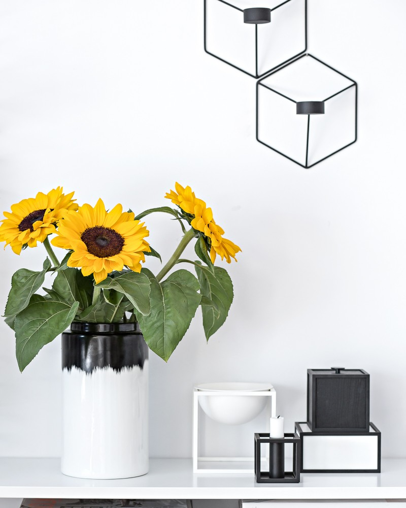 sunflowers | www.my-full-house.com | Top Scandinavian Interior and Lifestyle Blog