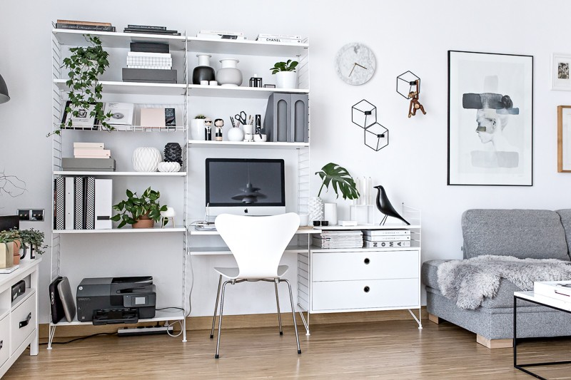 Home Office - Scandinavian Workspace | www.my-full-house.com |