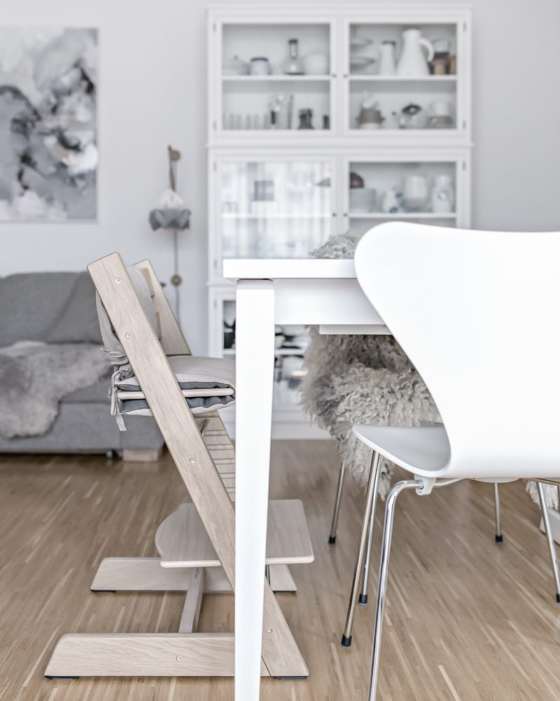Tripp Trapp Anniversary Edition White Oak | www.my-full-house.com | Top Scandinavian Interior and Lifestyle Blog