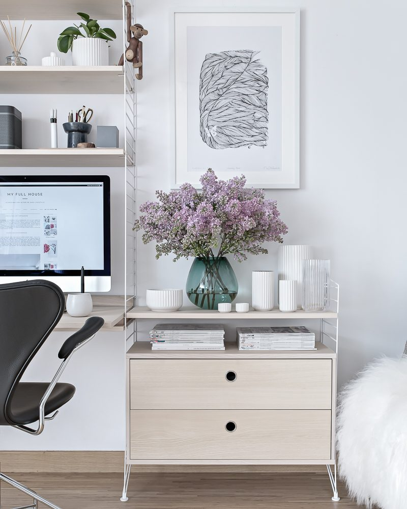 Home Office changes (Spring 2017) | www.my-full-house.com | Top Scandinavian Interior and Lifestyle Blog