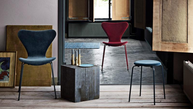 Series 7 chair in Velvet - lala Berlin x Republic of Fritz Hansen | www.my-full-house.com
