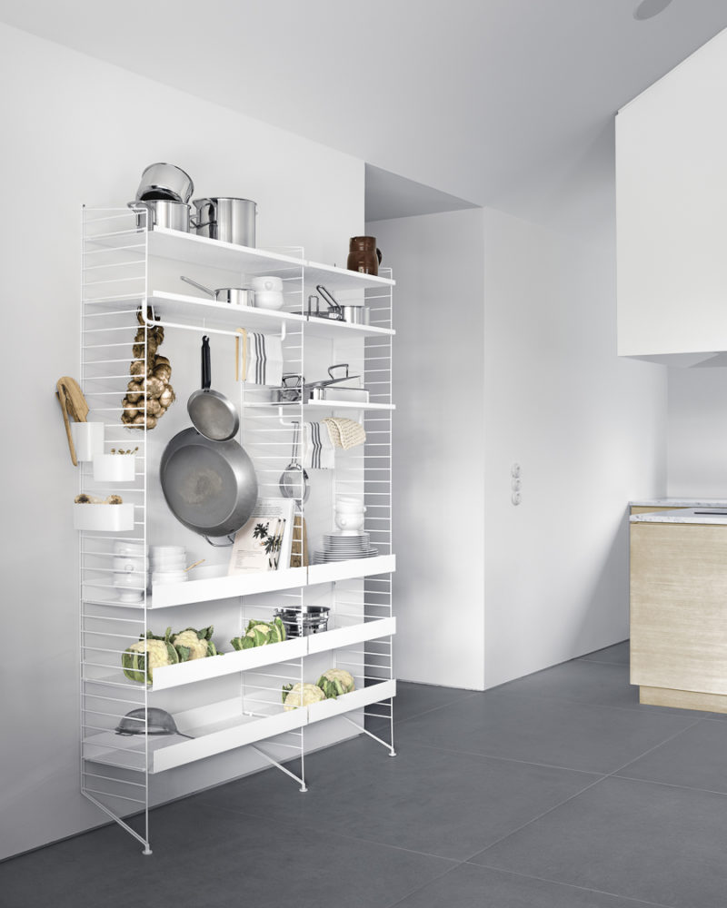 Shelves in every room – String news 2018