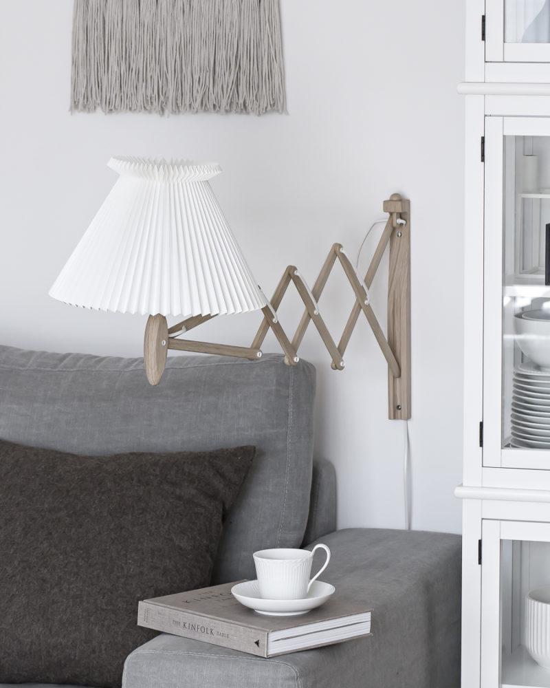 My perfect wall lamp - Le Klint Sax | www.my-full-house.com