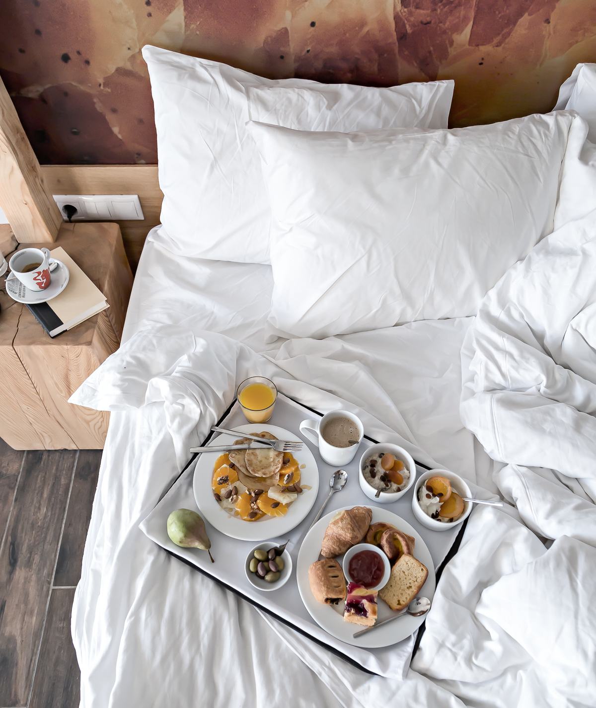 Midweek breakfast in bed