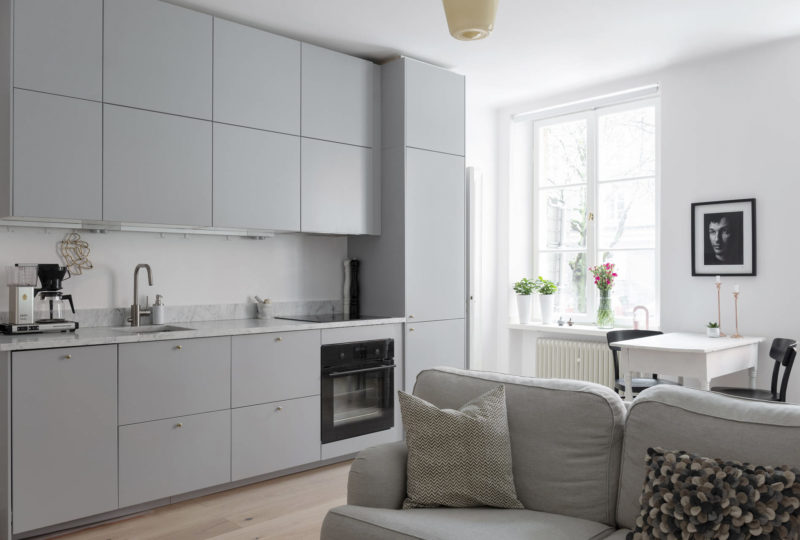 Interior trends | Grey kitchen cabinets | www.my-full-house.com | Top Scandinavian Blog