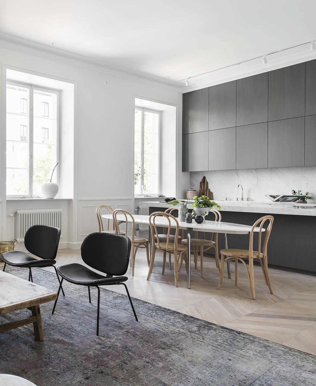 Interior trends | Grey kitchen cabinets