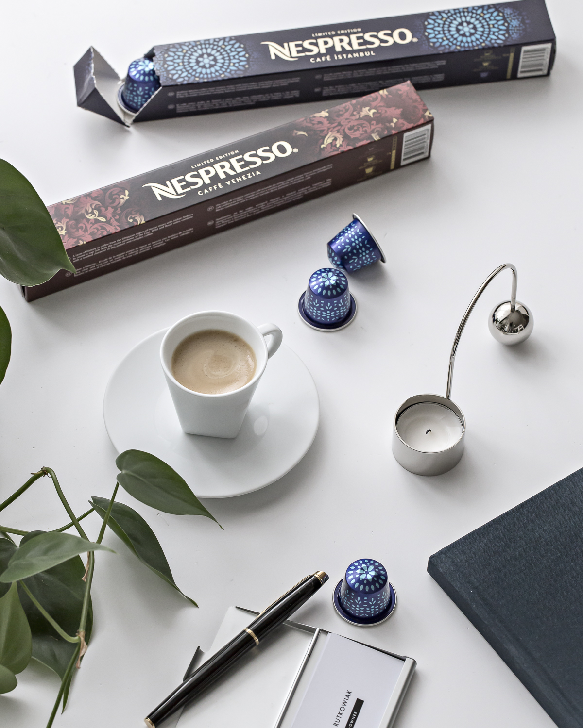Memories brought by Nespresso Coffee Houses